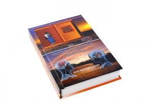 China Binding Cover Hard Copy Book Printing With Light Coated Paper Pantone Color on sale