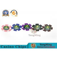Professional Casino 760 Custom Deluxe Poker Chip Set With Aluminum Alloy Case