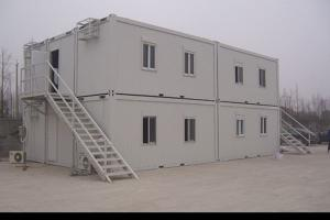 China Second Floor Student Dormitory Container House Prefab With 1 Bedroom / 1 Balcony / 1 Bathroom on sale