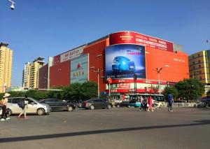 China SMD3535 Clear LED Video Walls , outdoor advertising led display screen p10 on sale