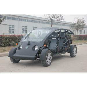 China Vitesse maximum électrique faite sur commande du véhicule utilitaire 40KM/H de chariot de golf de personne du noir 4 on sale