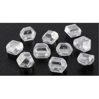 White Good Transparency Lab Grown Rough Diamonds 90 GPA Hardness Value