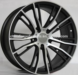 China Gloss Black Car Rims With 5x120 PCD  For BMW X6/ Colour Customized 20 inch Forged Alloy Rims on sale