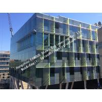Double Glass Solar Modules Component Photovoltaic Façade Curtain Wall Solar Cell Electric PV Systems
