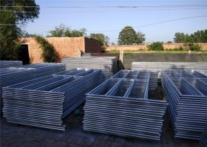 China 1.75 Diameter Corral Fence Panels Long Service Life With Various Tube Shapes on sale