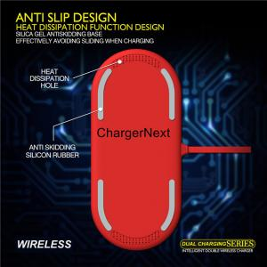 China 2018 New Round Shape 9v output 7.5W Fast Charge universal QI Mobile Phone Wireless Charger for Samsung S8 for iphone 8 on sale