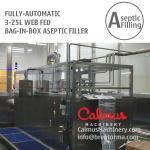 3-25L WEB Bag Filling Machine Juice Dairy Bag in Box Aseptic Filler