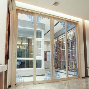 China Horizontal 5mm 12a Sliding Patio Security Doors on sale