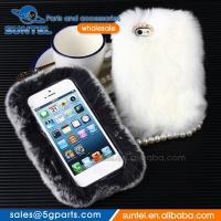 Warm Rabbit Fur Luxury Hard Case for Samsung for iPhone Phone Case