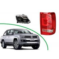 Volkswagen Amarok 2011 2012 - 2015 2016 Automobile Spare Parts Head lamp Assy and Tail Lamp Assy