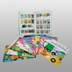 Services d'impression mats de livre de coloriage de papier d'art, livres adaptés aux besoins du client pour des enfants