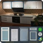 European Style Solid Wood Cabinets LW-EN002