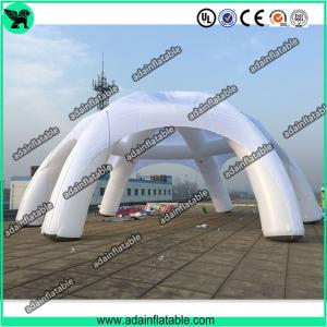 China Beautiful Party Inflatable Tent ,Event Lawn Inflatable Spider Tent,White Spider Booth Tent on sale