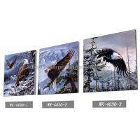 Frameless PET 3d Lenticular Image / Animal 3d Lenticular Christmas Cards For Decoration