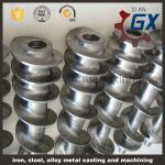 SACM645 bimetallic single screw barrel for film blowing machine