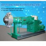 Hot Feeding Rubber Hose Extrusion Machine , Rubber Extrusion Equipment
