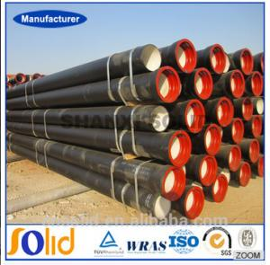 China One leading Manufacturers of C25, C30, C40 K9 Ductile Iron pipe in China on sale