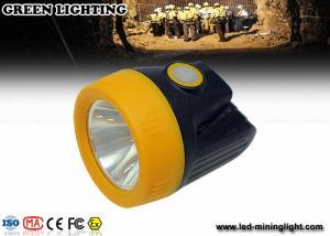 China 3.7v Li - Ion Battery LED Mining Lamp on sale