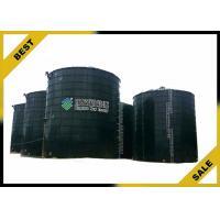China Organic Fertilizer Equipment Enameled Biogas Storage Tank  Nitrogen Oxides Removal on sale