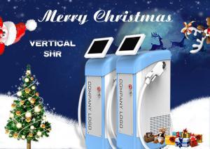 China Permanent SHR Super IPL Hair Removal Machine For Bikini Area / Armpit / Legs on sale
