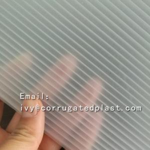 China Clear transparent corflute coroplast correx pp corrugated plastic sheet 4x8 on sale