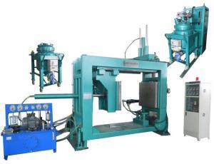 China APG machine  apg casting machine epoxy resin apg casting machine ct winding machine injection mold HAPG-880 on sale