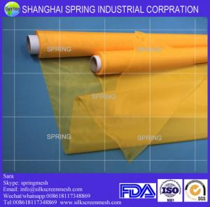 China Polyester silk screen printing mesh fabric 200 mesh count(80T)/Screen printing mesh on sale
