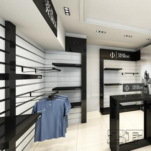 Modern Shop Display Rack Decoration Design Garments Shop for sale ...