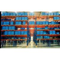 Heavy Duty Steel warehouse pallet shelving rack uprights capacity 4500kg / level