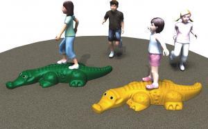 China Crocodile Shape Indoor Soft Play Equipment Simple Installation TUV Certification on sale