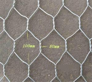 China 2x1x1 Flat Wire Mesh Galvanized Wire Gabion Baskets For Water Protecting Application on sale