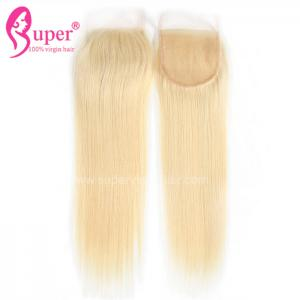 China Durable Straight Blonde Ombre Weave European Real Cheveux Hair Extensions on sale