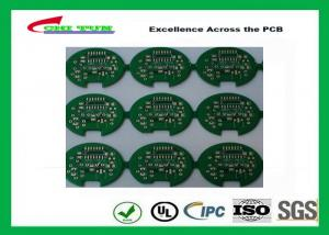 China 2 Layer Lead Free HASL Custom Printed Circuit Board PCB Material FR4 1.6MM Green Solder Mask on sale