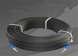 China G657A FC UPC Fiber Optic Drop Patch Cable Wire Outdoor Single Mode FTTH Jumper on sale