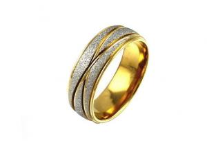 China Modern Stainless Steel Band Rings , Titanium Mens Stainless Steel Wedding Rings on sale