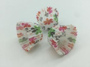 China Colorful Decorative Cupcake Wrappers/ Holders , Patterned Cupcake LinersBirthday Baking Tools on sale