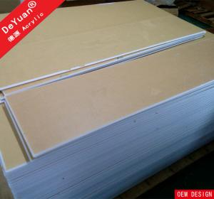 China 1.22*2.44 White Acrylic Sheet  Virgin Weather Abrasion Resistance on sale