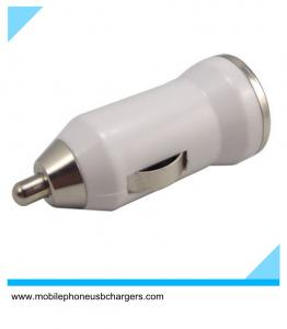 China 5v car charger usb adapter 1a for iphone 5 with led on sale