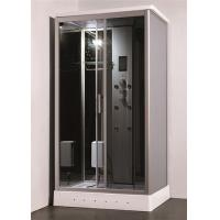 China Residential Steam Shower Bath Cabin Multi Jet Shower Enclosures With FM Radio Function on sale