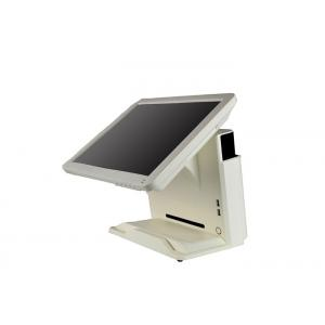 China 15'' Resistive All In One Touchscreen POS Terminal Machine J1900 CPU Fanless Design on sale