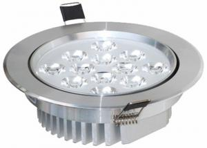 China 12W LED Recessed Ceiling Light , High Brightness Indoor Light on sale