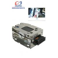 China High Security Motorized IC Card Reader Writer , Smart Chip Card Reader For Kiosk Terminals on sale