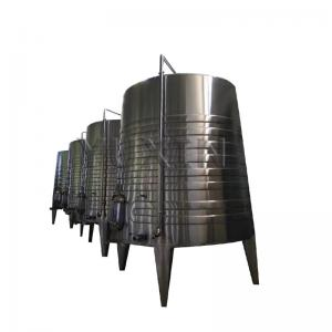 China stainless steel 3000l 5000l red wine / white wine storage tank on sale