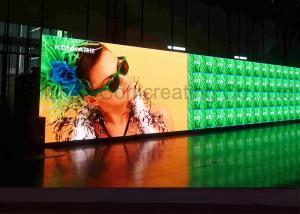 China カスタマイズされた HD P4 屋内広告の LED 表示フル カラー LED 伝言板の前部/背部サービス on sale