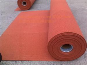 China Multipurpose Outdoor Sports Flooring Roll , Anti Slip Rubber Matting Roll Recycled on sale