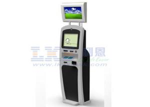 China Tourism Destinations SIM Card Dispenser Kiosk , Self Check In Dual Screen Kiosk on sale