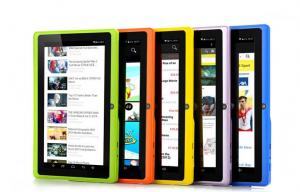China Allwinner A33 Cortex A7 Quad Core Android 4.4 kitkat tablets With Capacitive Touch Screen on sale