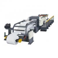 China Professional Paper Roll Cutting Machine Paper Slitting And Rewinding Machine on sale