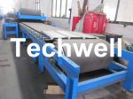 Continuous Rubber Belt Conveyor PU Sandwich Panel Roll Forming Machine