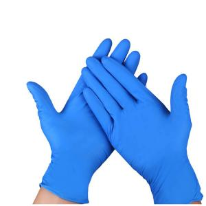 China S-XL Disposable Nitrile Gloves High Elasticity Convenient Comfortable Wearing on sale